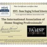 LOGO IAHSP Der HSV ist der anerkannte schweizerische Berufsverband für Home Staging